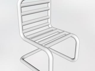 Tubular chair