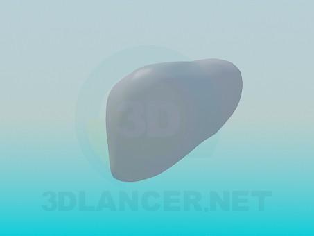 Modelo 3d Fígado humano - preview