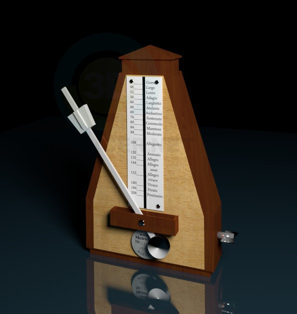 3d model Metronome - preview