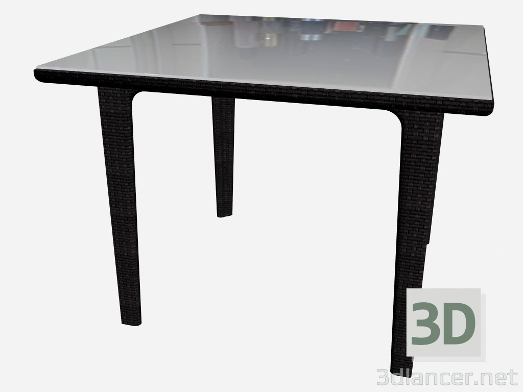 3d model Dining table Table Base 6482 88101 - preview