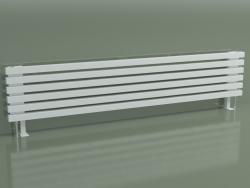 Radiatore orizzontale RETTA (6 sezioni 1800 mm 40x40, bianco opaco)