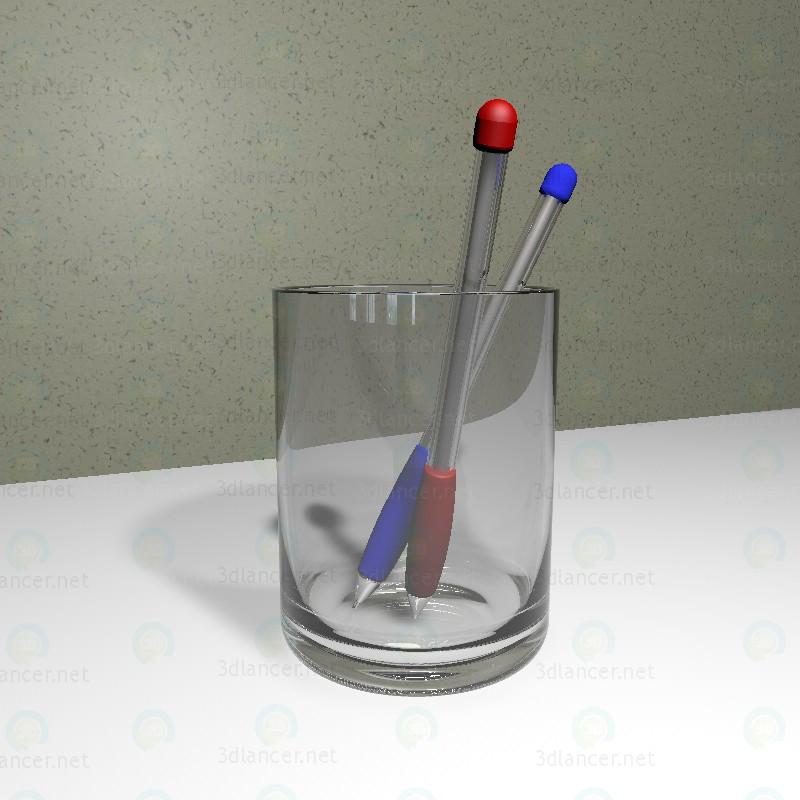 3d model Ballpoint pens - preview