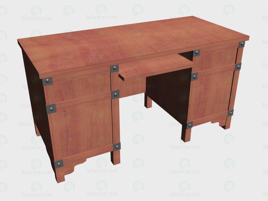 3d model Mesa de escritorio 140 - vista previa