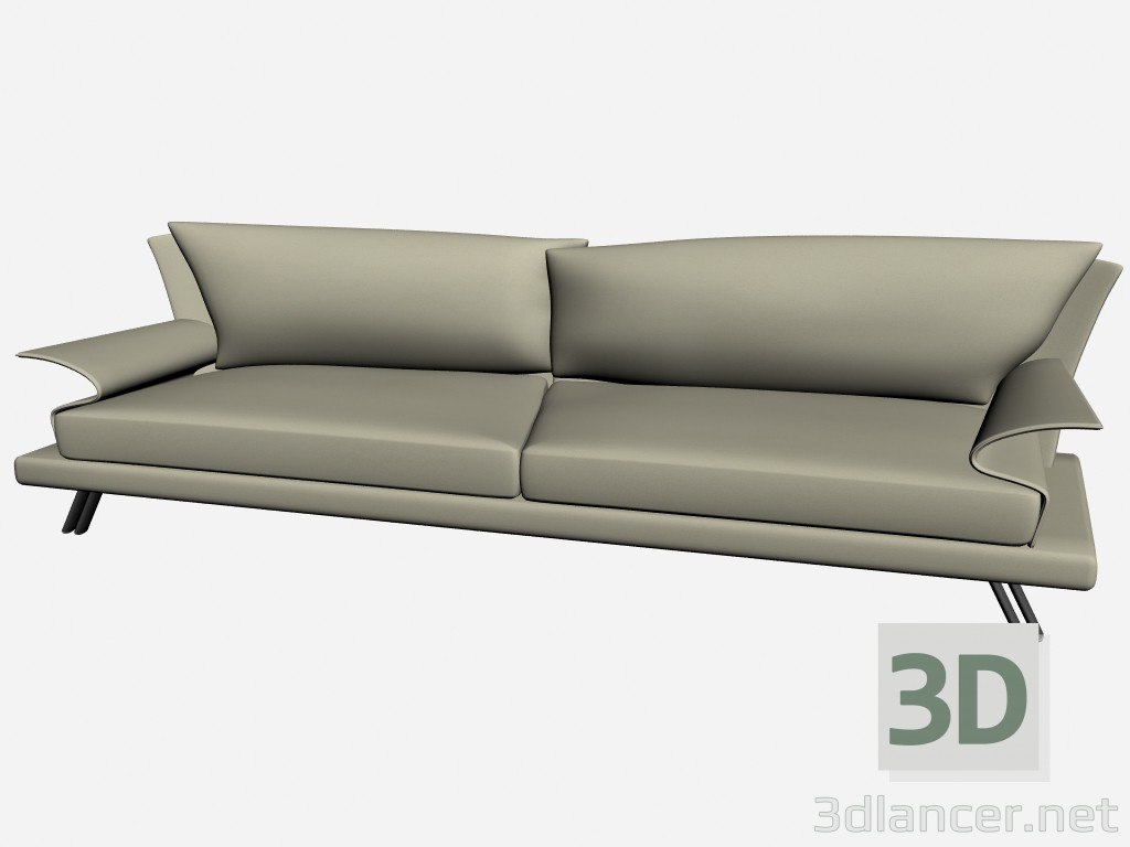 3d model sofa super roy 4 il loft collection sofas - Super sofa ...