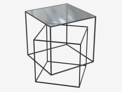 Table basse Thin Black Table