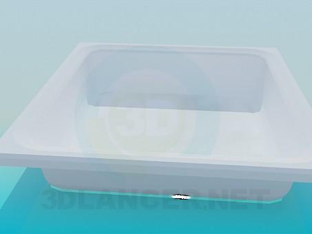 modelo 3D Plato de ducha - escuchar