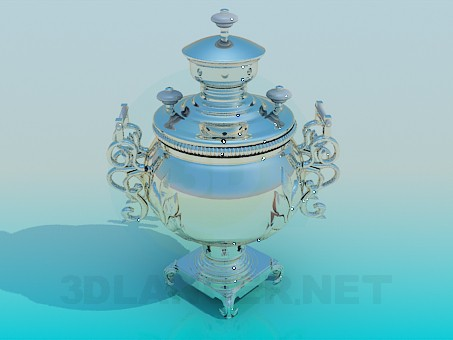 3d model Samovar - preview