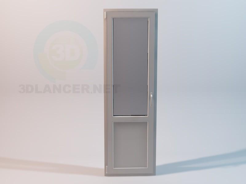 modelo 3D Puertas de balcón plástico - escuchar