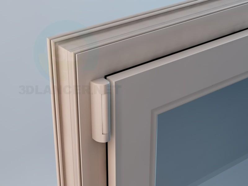 3d модель Балконные двери пластиковые – превью