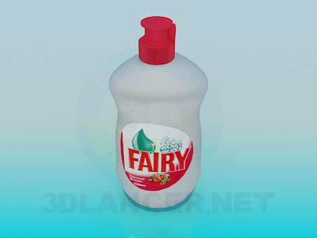 3d model bottle Fairy, 3ds, - Free Download | 3dlancer net