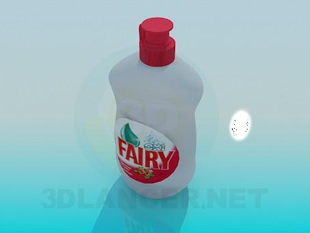3d модель Бутылка Фейри – превью