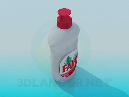 modelo 3D Hadas de la botella - escuchar