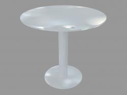 Table à manger (D80 laqué blanc)