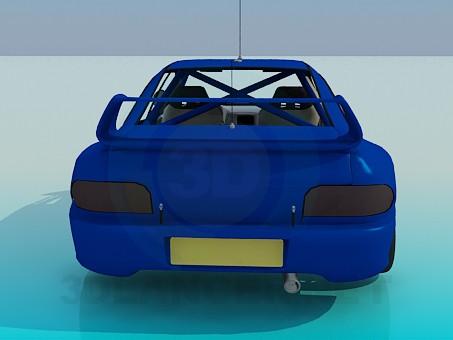 3d model Subaru impreza - preview