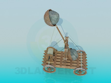 3d model Catapult - preview