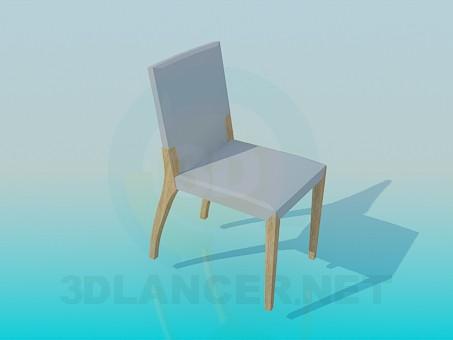 Modelo 3d Cadeira em pernas de pau - preview