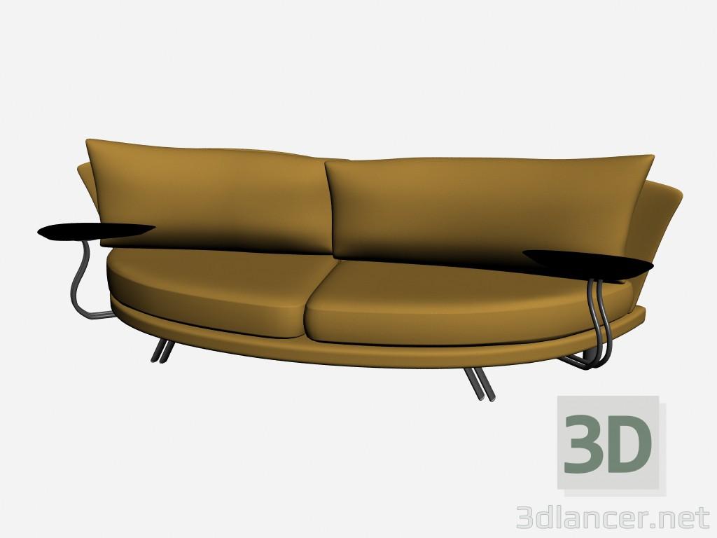 3d model sofa super roy 7 il loft collection sofas for Sofa xxl 7 plazas