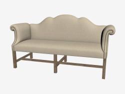 सोफा-बेंच क्लासिक डबल सोफे