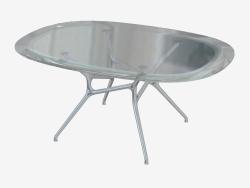 Table de salle à manger ovale