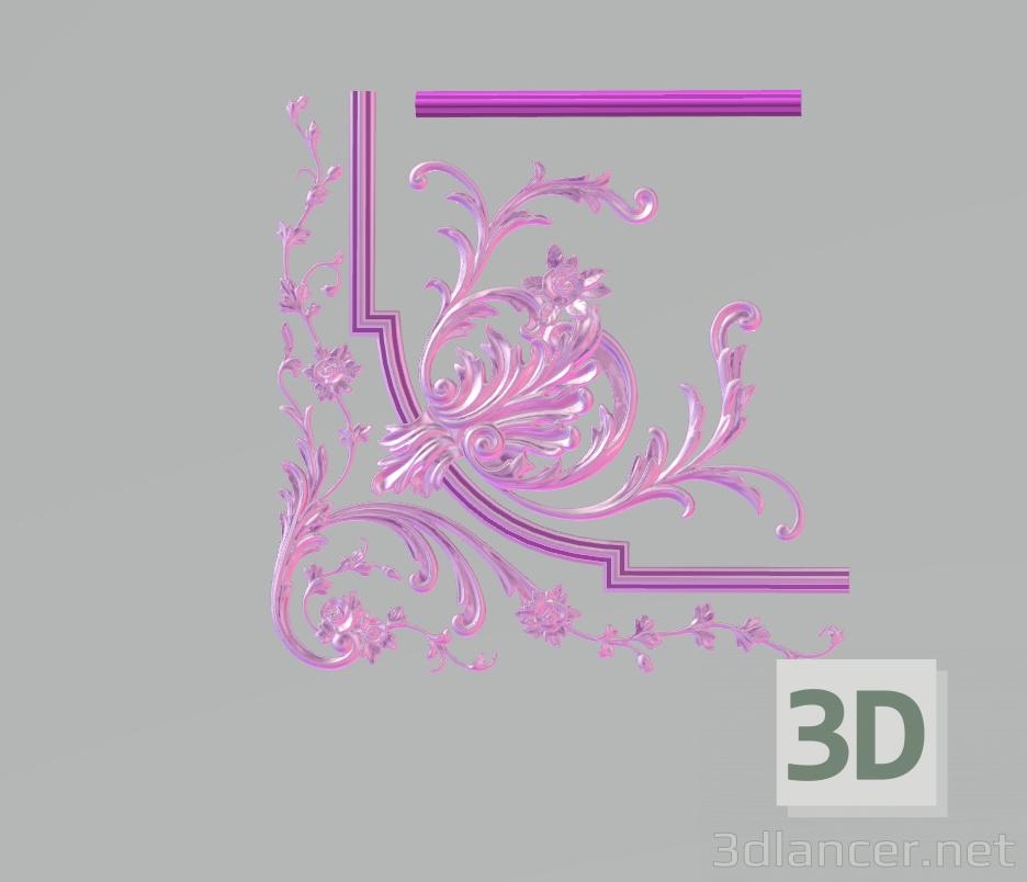 3d модель Декор – превью