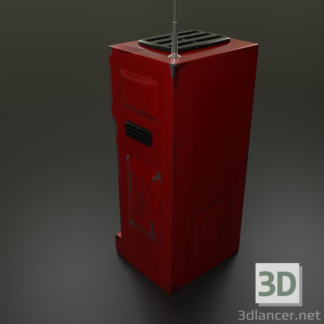 3d futuristic handset model buy - render