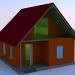 Modelo 3d cabana - preview