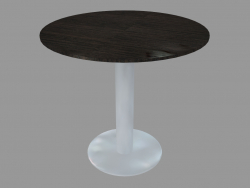Table à manger (frêne teinté gris D80)