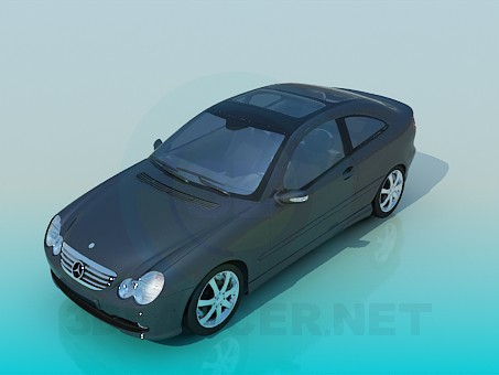 3d modeling The mercedes car model free download