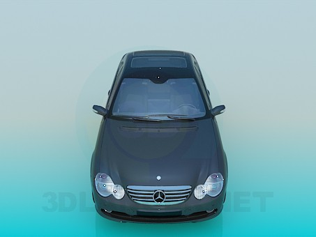 3d model The mercedes car - preview
