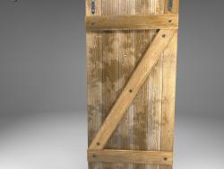 LOFT style door
