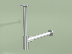 Stainless steel washbasin siphon (SI006, AS)