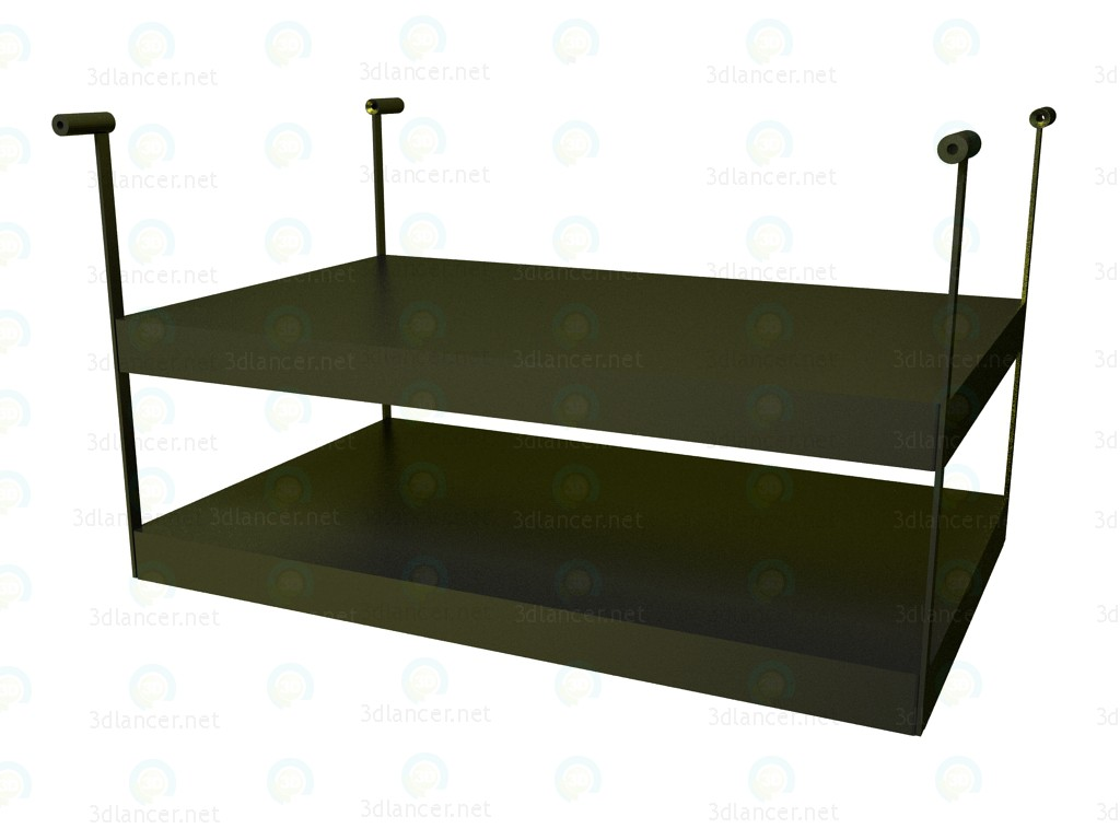 3d modeling Shelf for table P1S0508AS model free download