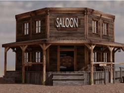 Saloon selvaggio west
