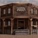 3d Saloon wild west model buy - render