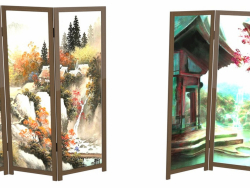Screens in Japanese style