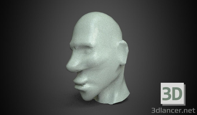 3d model Face - preview