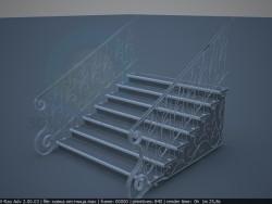 Rampes d'escalier de la forge