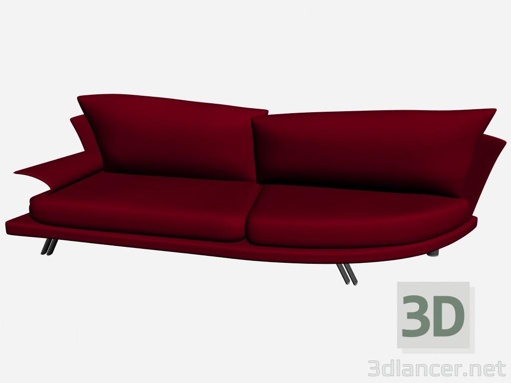 3d model sofa super roy 10 il loft collection sofas - Super sofa ...