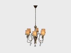 ASTRID chandelier CHANDELIER (CH108-6-AKD)