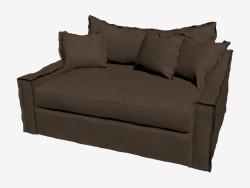 Sofa-bed double LOVESEAT (dark)