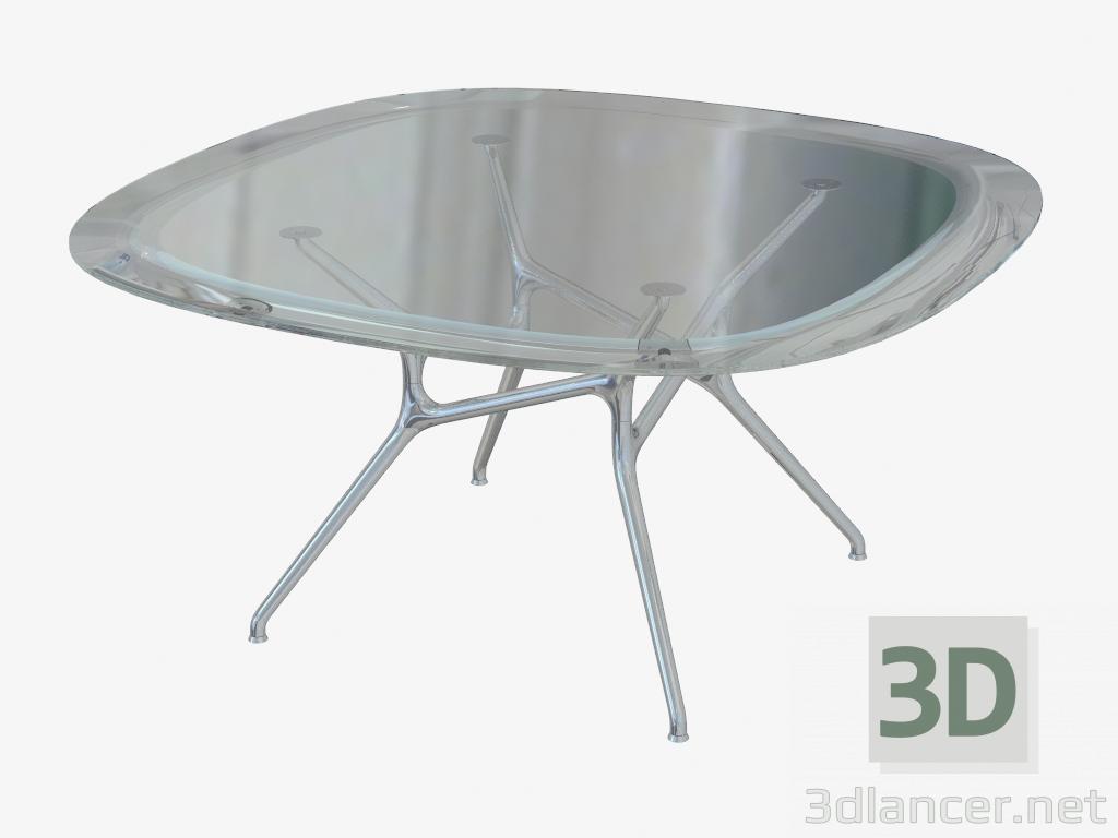la scelta migliore anteprima di ottima vestibilità 3d model Dining table square with rounded corners Branch Table ...