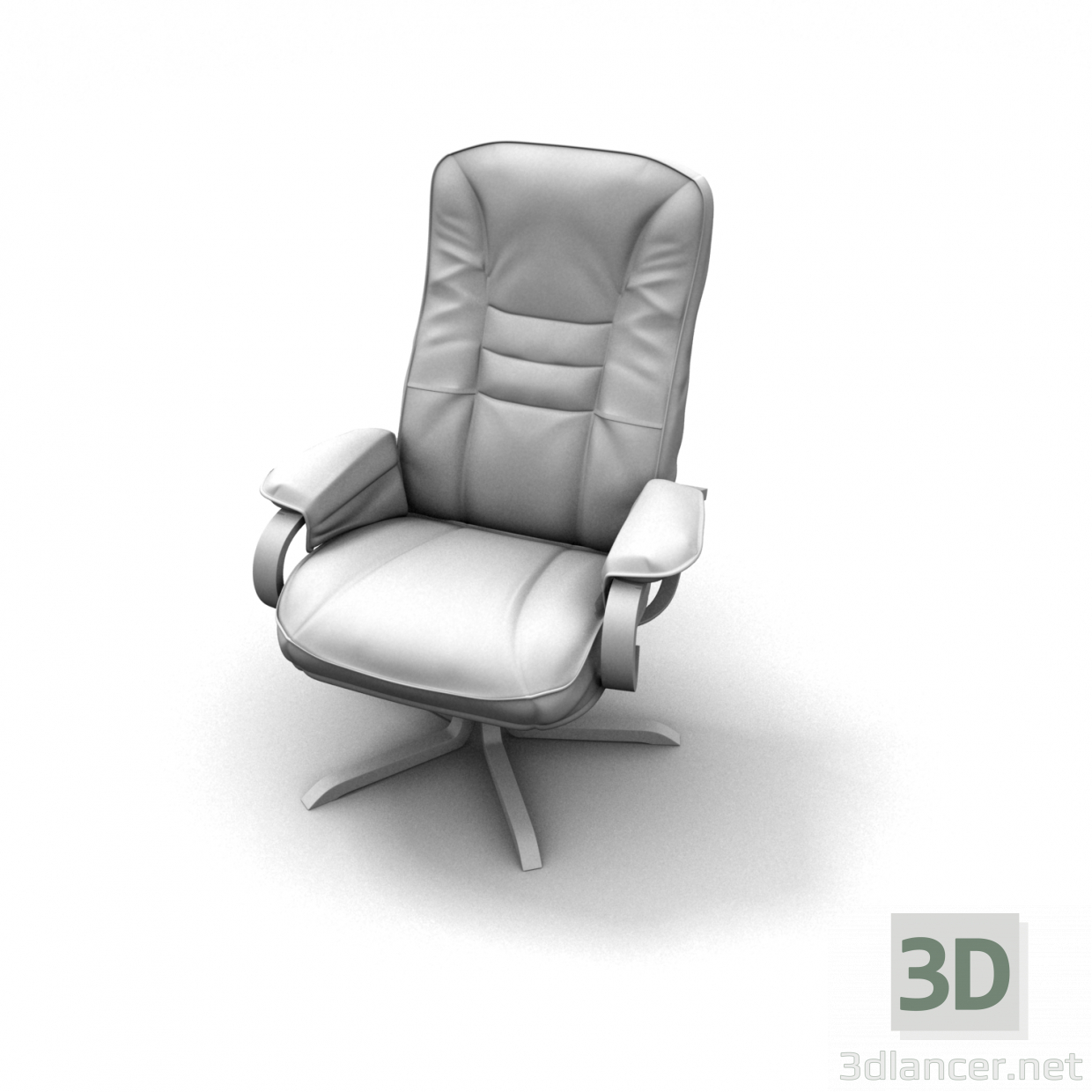 3d model MODERN DESKTOP CHAIR3 - preview