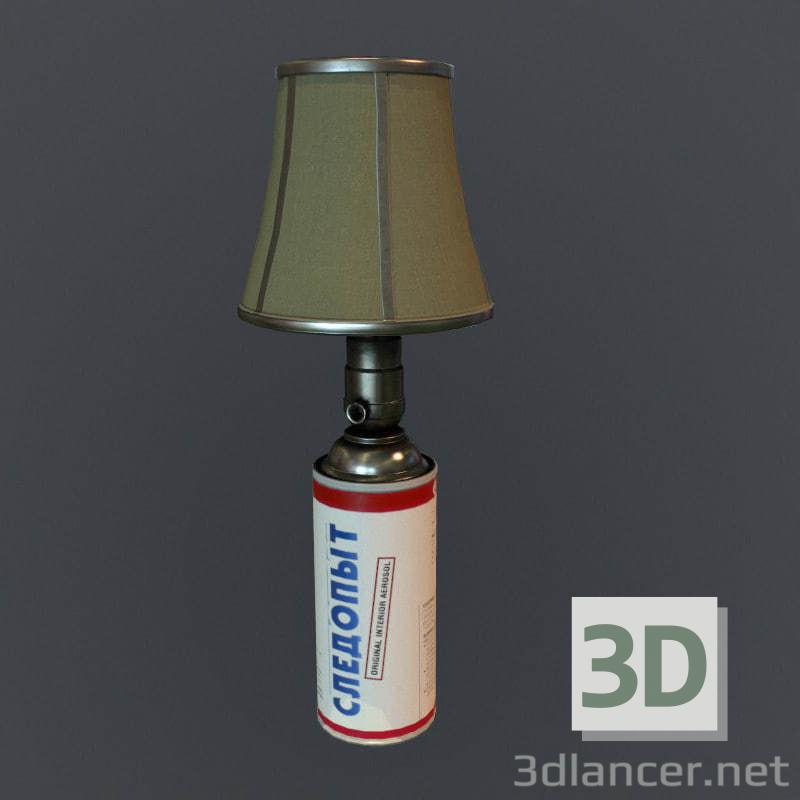 3 डी मॉडल गैस लैंप फ्री लो पॉली - पूर्वावलोकन