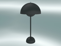 Lampe de table Flowerpot (VP3, Ø23cm, H 50cm, Matt Black)