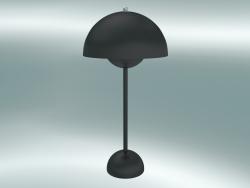 Table lamp Flowerpot (VP3, Ø23cm, H 50cm, Matt Black)