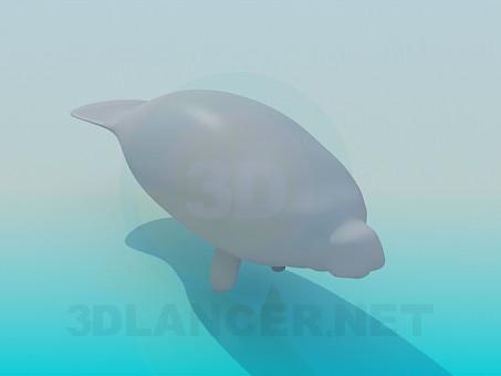 3d модель Морской котик – превью
