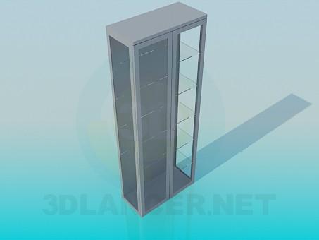 modelo 3D Marco con las puertas cerradas - escuchar