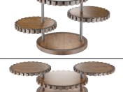 Sprockets End Table