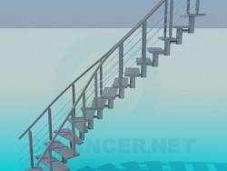 Escaleras modelos 3d max descargar gratis for Escaleras 3d max