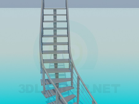 3d model Stairs - preview